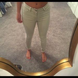 Khaki pants. Fits size 0-1 / 24-25.